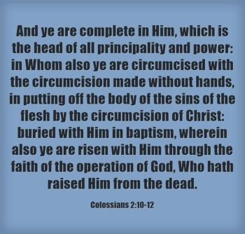 Faith Of the Operation of God | BaptismForLife.wordpress.com